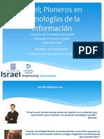 Israel, pioners en tecnologies de la informació