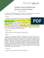 Franco, A. (2004) El discurso periodístico a través de la lingüística textual