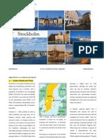 Stockholm . description about city