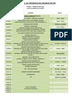 Seminários XVI INTERNATO