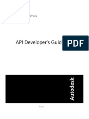 AutoCAD Civil 3D API Developer s Guide | Component Object