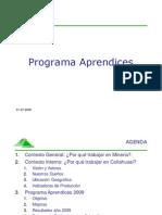 Programa Aprendices - Presentación de Collahuasi