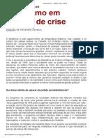Revista Fevereiro - Socialismo Em Tempos de Crise