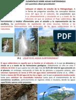 Diez Preguntas Basicas de Hidrogeologia