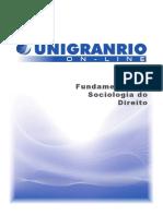 APOSTILA - Fundamentos de Sociologia Do Direito - 01