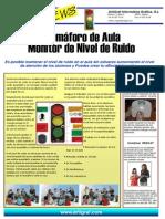 Semáforo de Aula Monitor de Nivel de Ruido