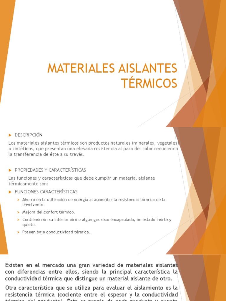 Materiales de aislantes simple isover aislantes fieltros - Material aislante del calor ...