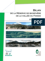Bilan de la Réserve de biosphère de la vallée du Fango 2003-2012