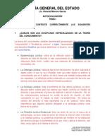 1o D B - TEORÍA GENERAL DEL ESTADO (Autoevaluaciones)
