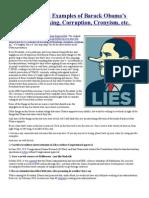 252 Documented Examples of Barack Obama's Lying Lawbreaking Corruption Cronyism Etc.pdf