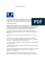 La Fórmula Bautismal en la Escritura y la Historia