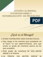 Introducción al Riesgo, Incertidumbre y Sensibilización de Proyectos