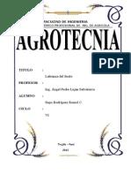Agrotecnia - Labranza Del Suelo