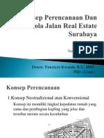Konsep Perencanaan Dan Pola Jalan Real Estate Surabaya