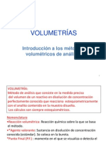 Modulo 5. Volumetrias