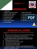 Cementacion for Exponer