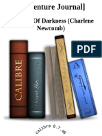 [Adventure Journal] - Shadows of Darkness (Charlene Newcomb)