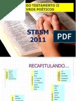 ANTIGO TESTAMENTO - PARTE 4 - POÉTICOS