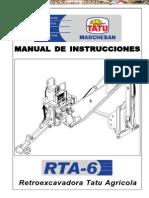 Manual Operacion Instrucciones Retroexcavadora Agricola