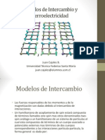 Modelos de Intercambio y Ferroelectricidad