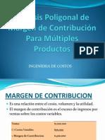 Análisis Poligonal de Margen de Contribución  Para Múltiples