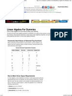 Linear Algebra For Dummies Cheat Sheet - For Dummies.pdf