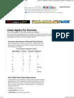 Linear Algebra For Dummies Cheat Sheet - For Dummies.pdf
