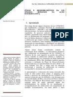 GÊNESE E DESDOBRAMENTOS DA LEI 12594