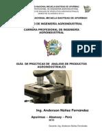 Analisis de Productos Agroindustriales