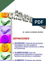 12. Requerimientos Nutricionales