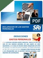 Declaración Gastos Personales - presentacion