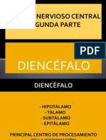 P.POINT DIENCÉFALO - SISTEMA NERVIOSO CENTRAL 2ªPARTE