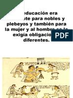 EDUCACION AZTECAS