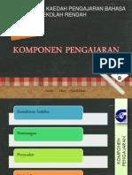 tajuk 11 ; komponen pengajaran.pptx