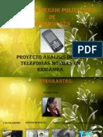 Telefonias Moviles - presentacion