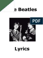 The Beatles - Todas Letras