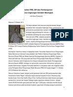 Keterkaitan PRB, API dan Pembangunan