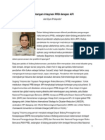 Tantangan Integrasi PRB dengan API