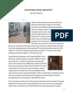 Rencana Kontijensi Banjir Jakarta 2014