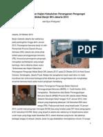 Sinkronisasi dan Kajian Kebutuhan Penanganan Pengungsi Akibat Banjir DKI Jakarta 2013
