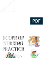 Scopes of Nursing Practice