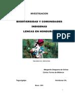Biodiversidad y Comunidades Indigenas Lencas en Honduras