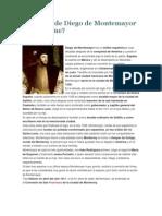 Biografía de Diego de Montemayor