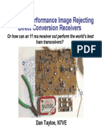 Very High Performance Image Rejecting