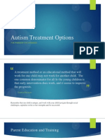 autism treatment options