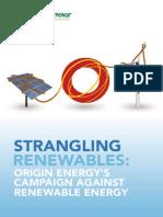Strangling Renewables