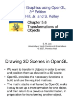 Computer Graphics using OpenGL, 3rd EditionF. S. Hill, Jr. and S. Kelley