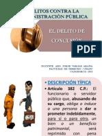 DELITO DE CONCUSIÓN