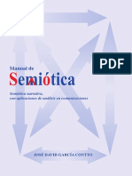 Manual de Semiotica Semiotica Narrativa Con Aplicaciones de Analisis en Comunicaciones y Medios Masivos 2011
