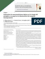 Vasoconstrictores Topicos en Cirugia de Pterigion